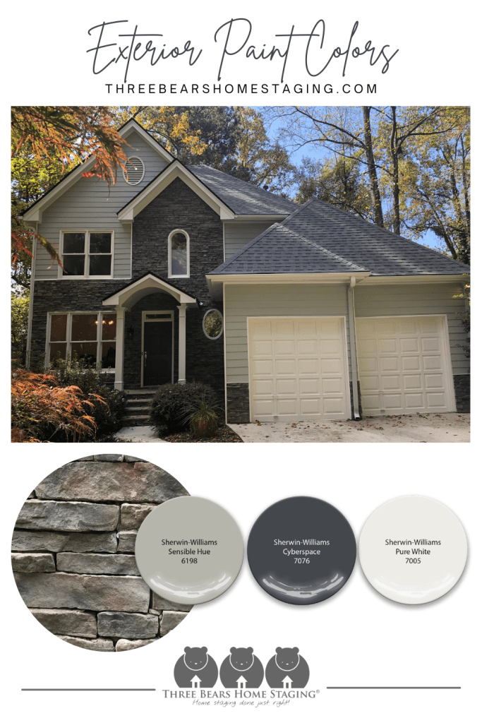 choose exterior paint color