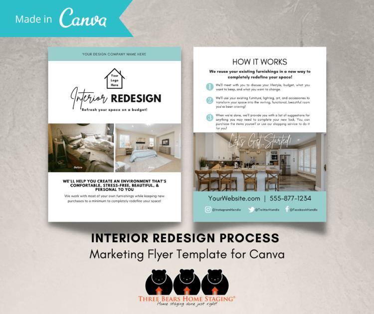 interior redesign process