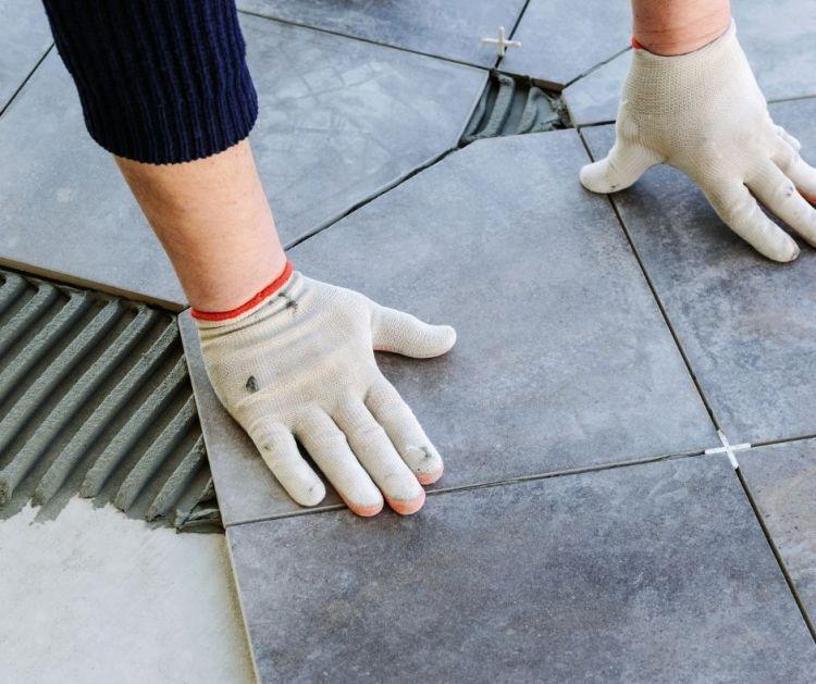 types of flooring tile