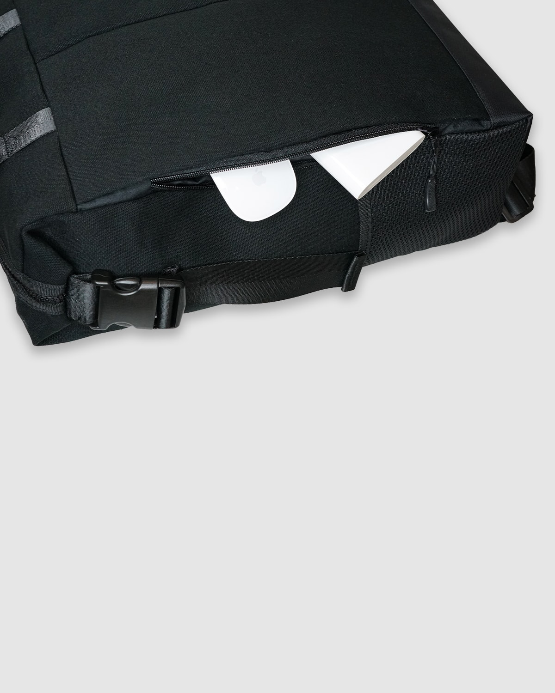 Balo laptop vai canvas Urban co quai xach nhieu ngan da nang kich thuoc lon vua laptop 16 inch Three Box 2