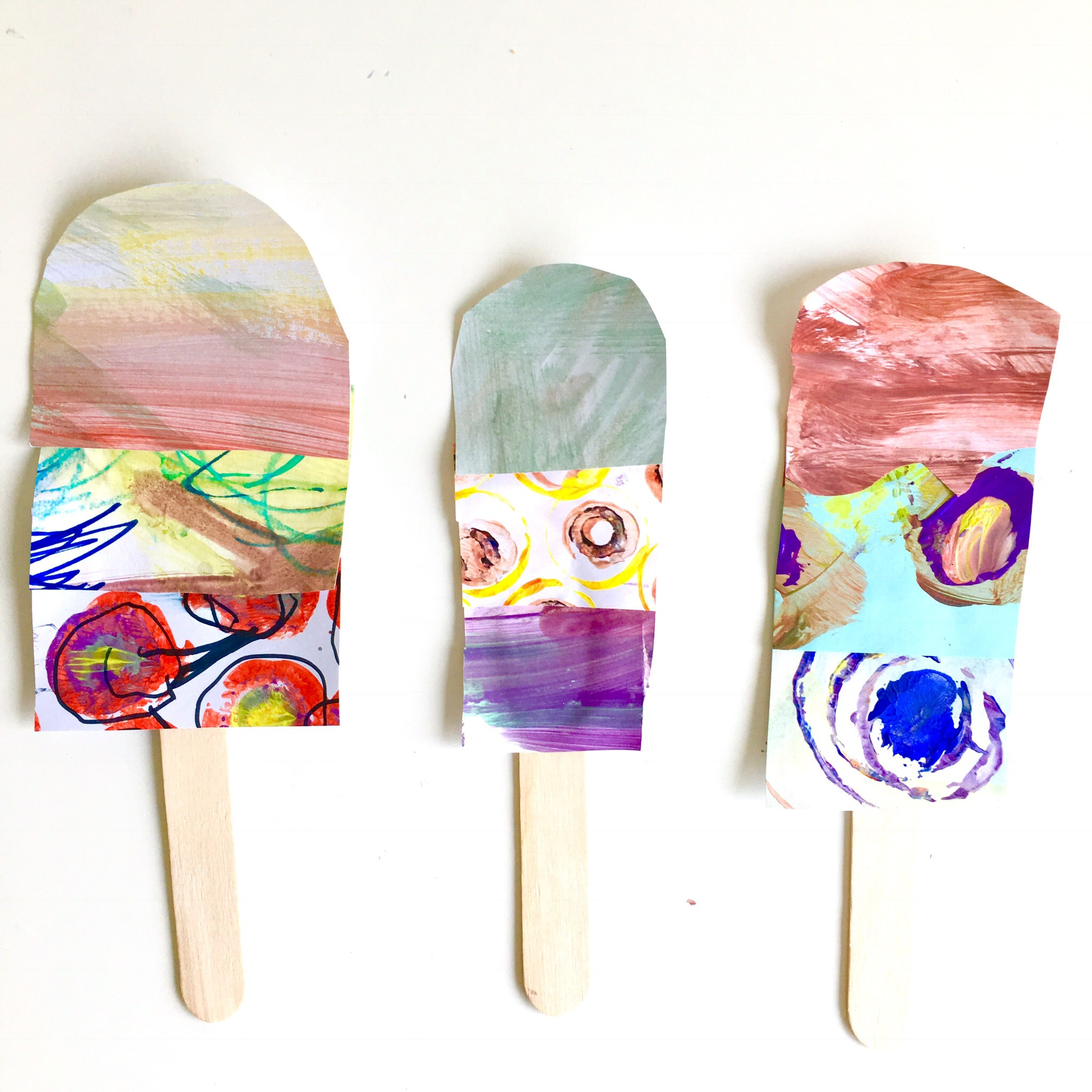 Recycling Artwork Mummy Teacher Illustrator