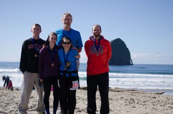 coastal marathon races