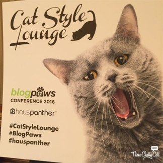 Cat Style Lounge at the BlogPaws 2016 Conference
