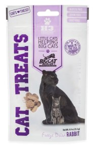 freeze dried rabbit cat treats