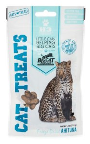 freeze dried ahi tuna cat treats