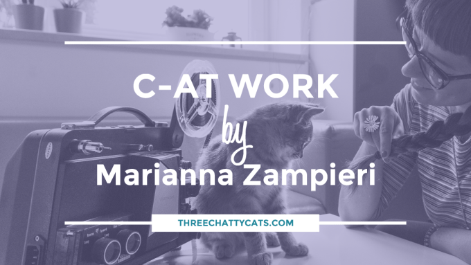 """C-AT WORK"" photo series by Marianna Zampieri"