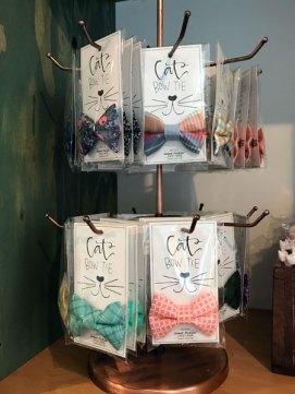 cat bow ties at Catfe