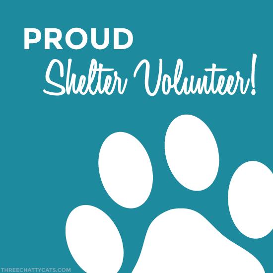 Proud Shelter Volunteer!