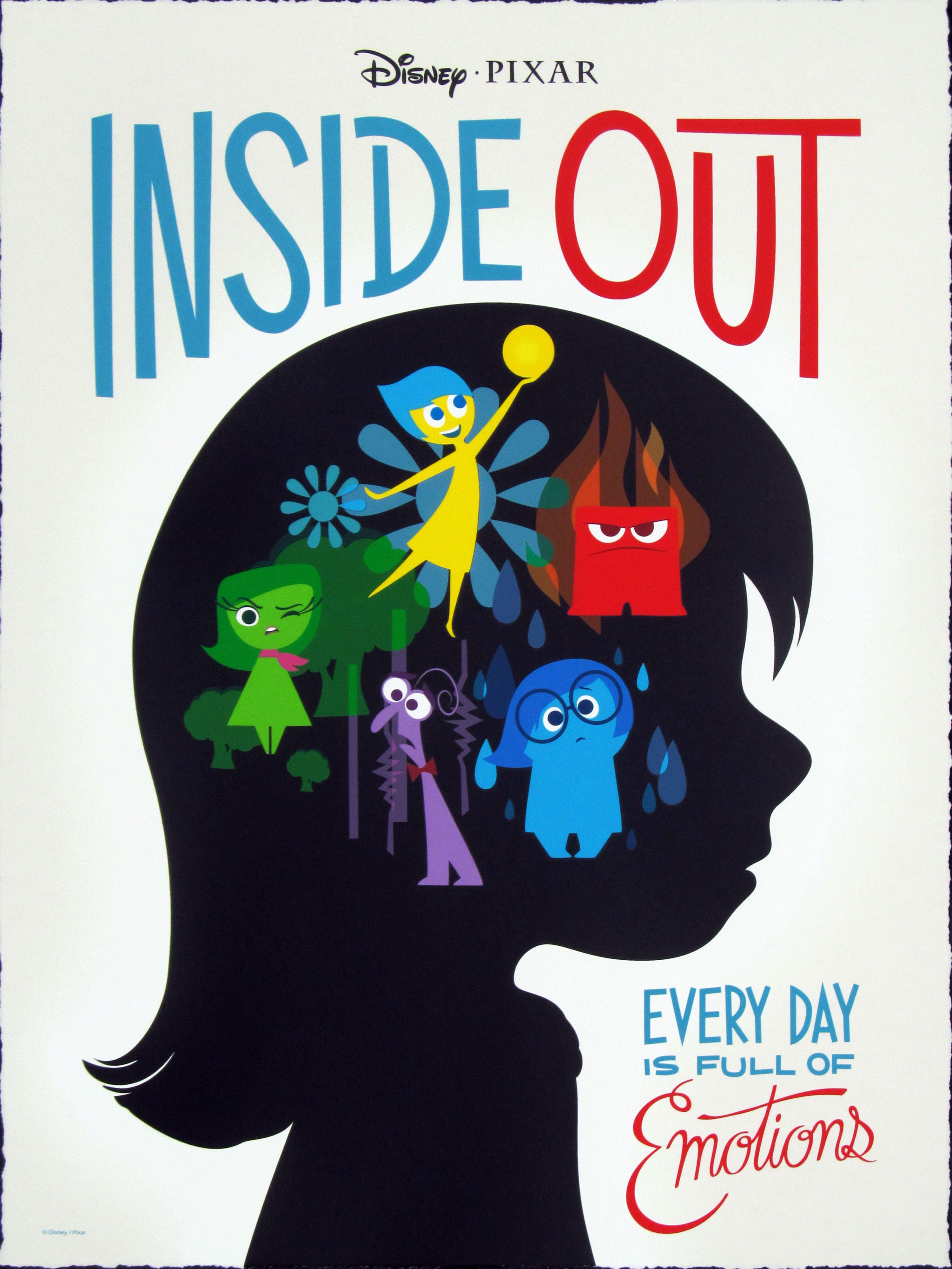 Inside Out Animation Film Review What If Our Emotions
