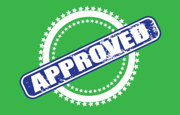 Approved! Just Kidding…One More Change
