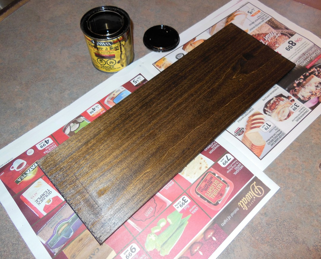 Minwax Wood Finish in Jacobean