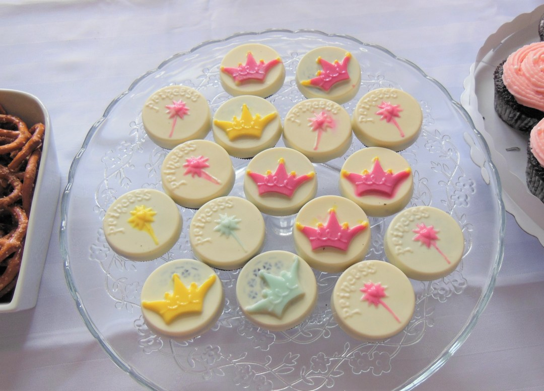 Vintage Princess Party - Princess Cookies