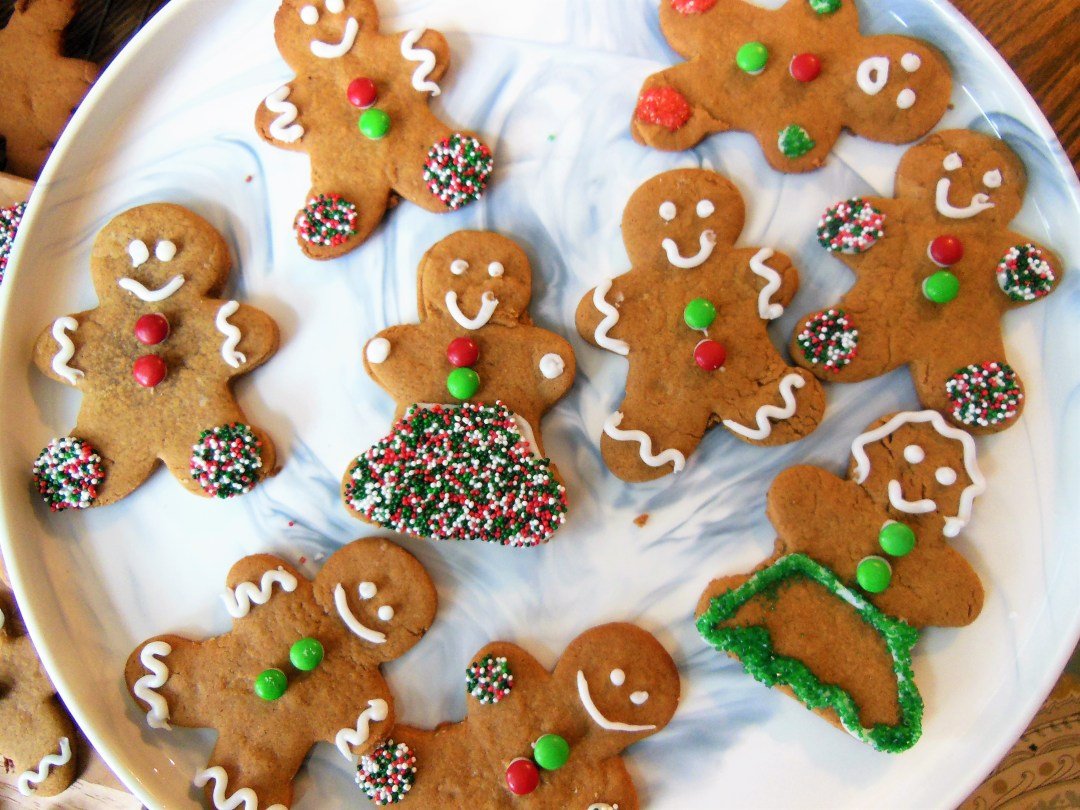 Holiday Gingerbread Cookies