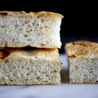 Easy Spicy Focaccia with Scotch Bonnet Peppers