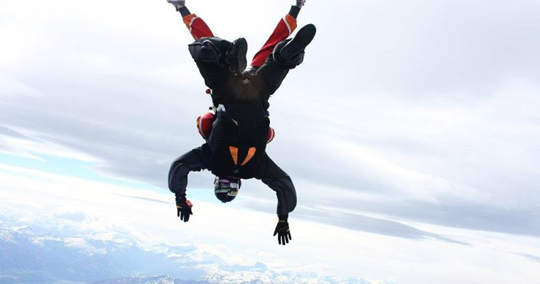"Skydiving – The Ultimate ""Take The Leap"""