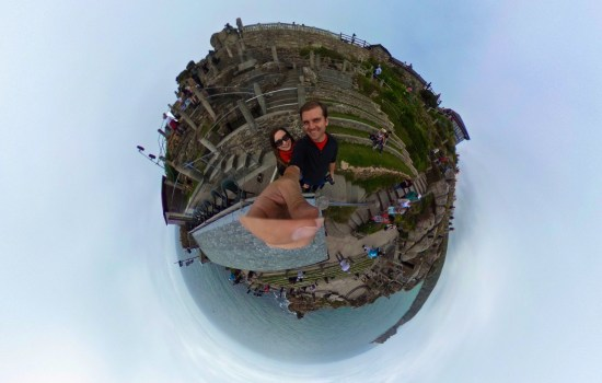 360 of Minack Theatre