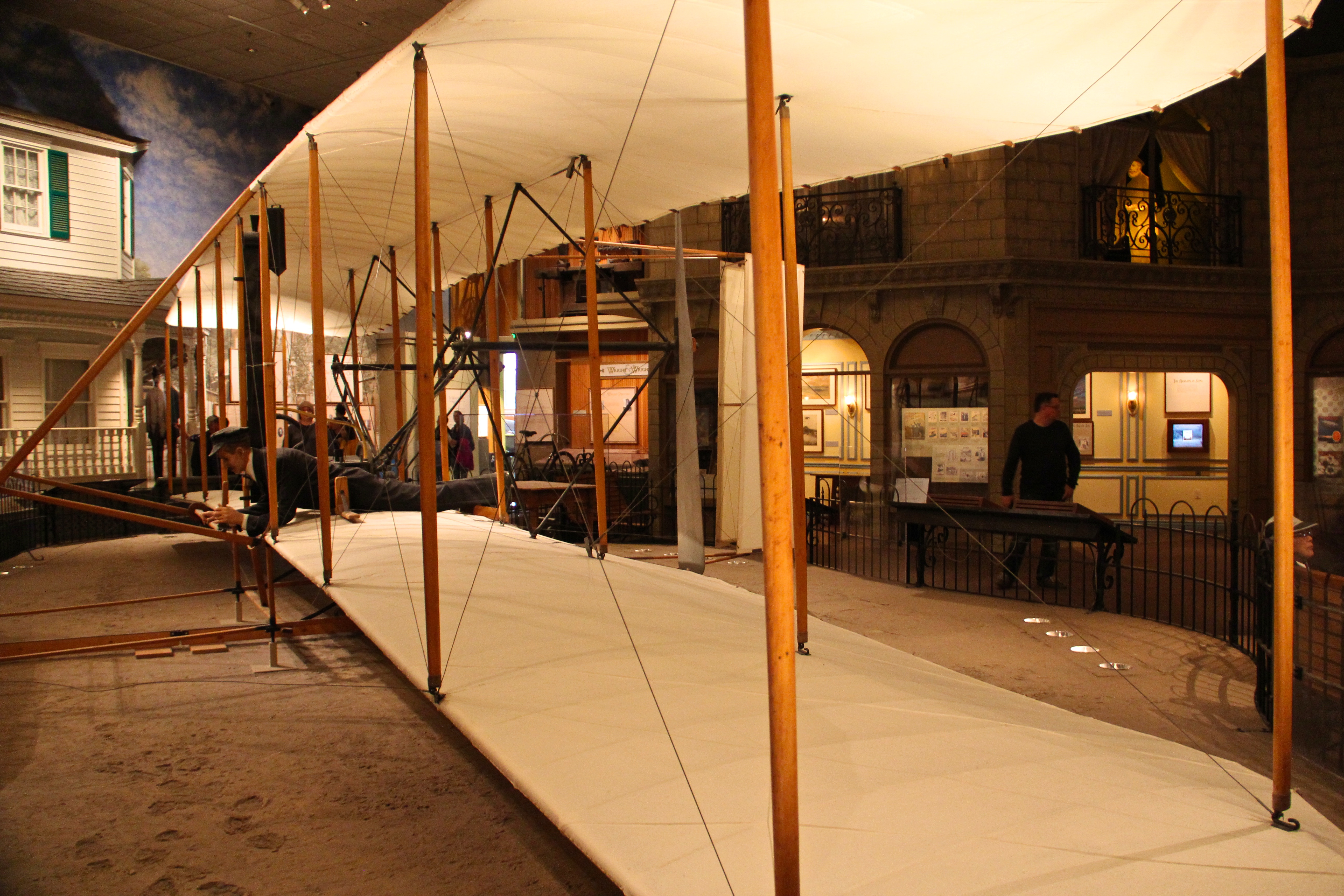 Wright Brother's Plane - National Air and Space Museum - Washington DC