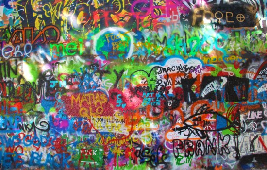 Prague - Lennon Wall