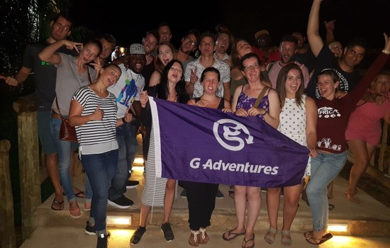 Our awesome G Adventures group