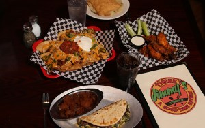 Three Jimmy's Lunch & Dinner Menu
