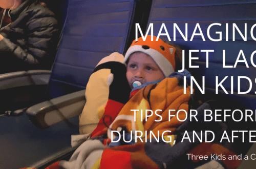 Managing Jet Lag in Kids