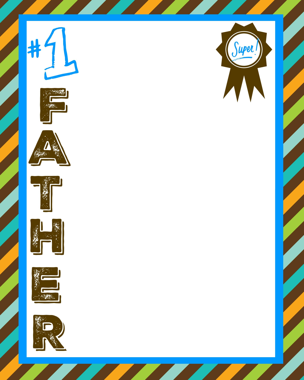 Father S Day Printable