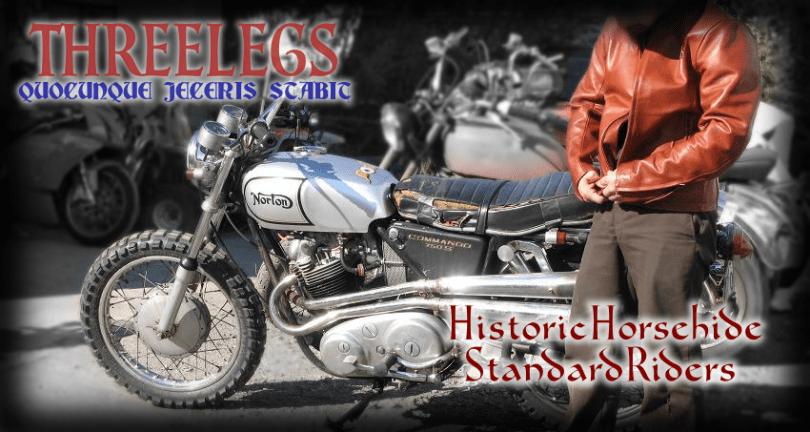 スリーレッグス 馬革 スタンダードライダース