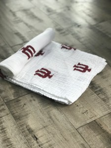 Officially Licensed Indiana University Swaddle Blankets