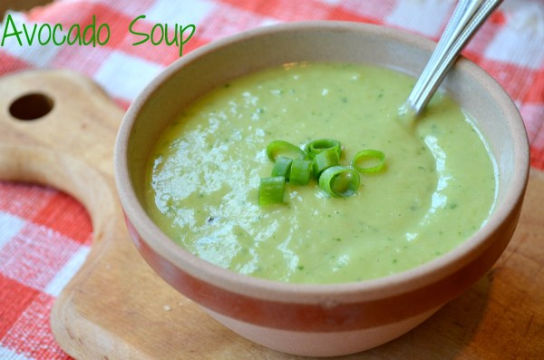 Chilled Avocado Soup with Lemon and Smoked Paprika — Three ...