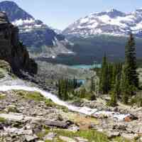 Lake O'Hara: the Lake Oesa and Morning Glory Lakes trails, perfect for families with a mix of hiking abilities.