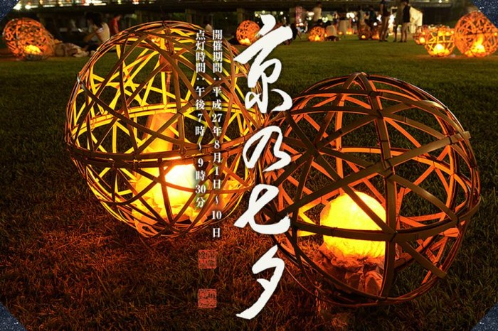 【日本七夕】京の七夕:京都景點推薦最唯美浪漫的七夕情人祭典!