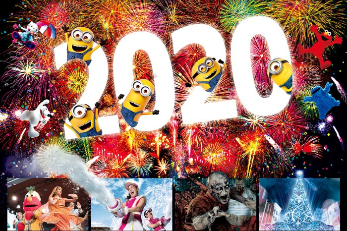 【跨年派對2021】日本大阪環球影城跨年派對、26小時狂歡通霄玩到爽!