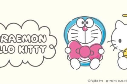 【哆啦A夢 x Hello Kitty】DORAEMON HELLO KITTY 聯名商品日本開賣