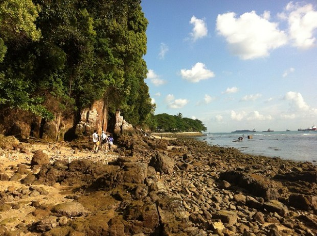 Sentosa Hidden Beach - For the adventurous one