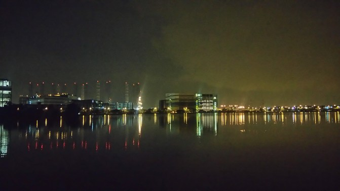 Hiking from Pandan reservoir to Jurong Fishery port
