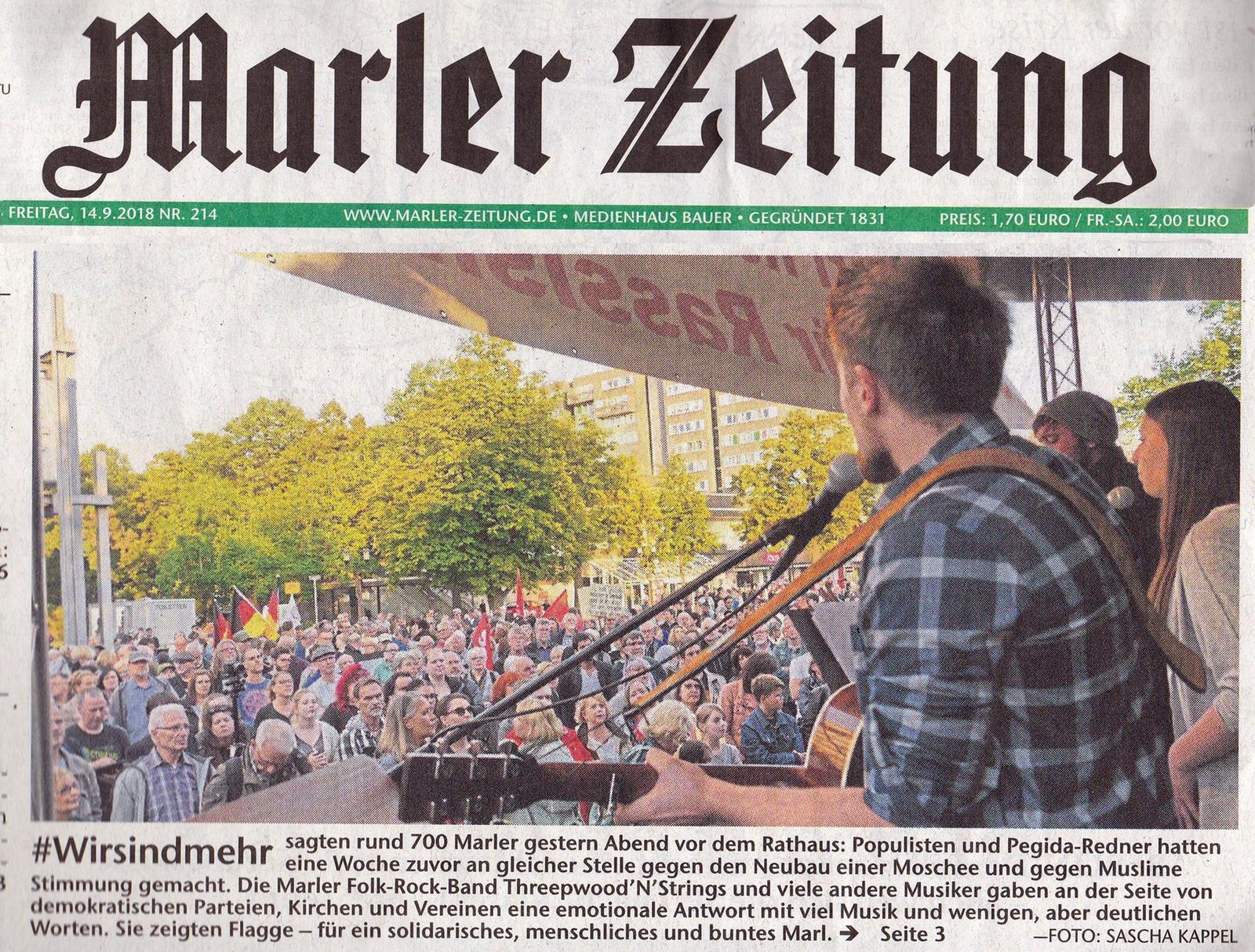 Threepwood N Strings #wirsindmehr Marl