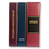 Legal & Financial Binders