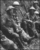 WW I soldiers
