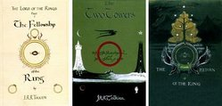 Lord of The Rings Book Covers