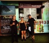 Three's food truck team!