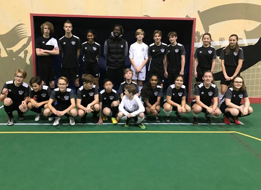 Clover Bar Junior High School's soccer program.
