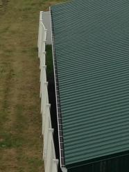 roof shot of eavestrough gutter fixes swan river stampede