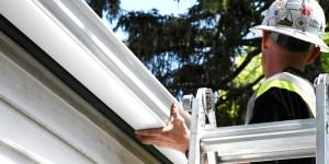 onsite eave install gutter eavestrough best service