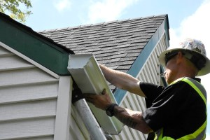 gutter fix eaves eavestrough virden manitoba