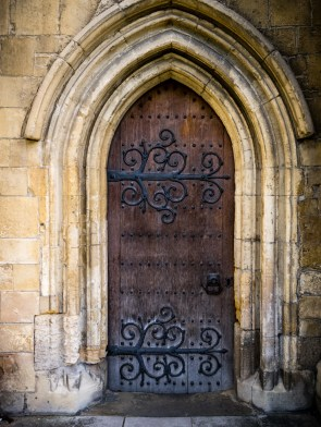 Small door at side of Rochester Cathedral