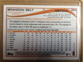 Brandon Belt (reverse)