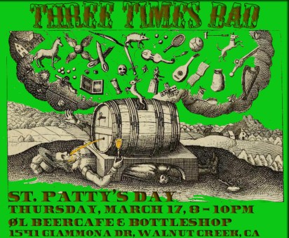 St Pat Walnut Crick Poster
