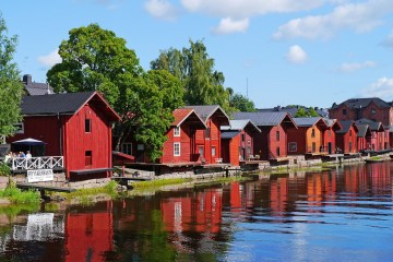 wooden houses finland