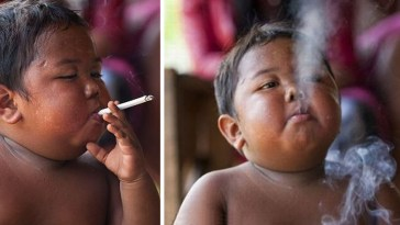 This Boy Started Smoking When He Was Only 2 Years Old This Is How He Looks Now.