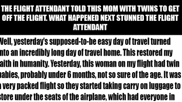 This Story Of A Generous Mom In A Plane Is Winning Hearts All Around The World!